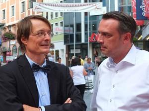 Im Gespräch mit Karl Lauterbach, dem Gesundheitsexperten der SPD